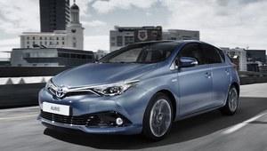 Toyota Auris po face liftingu wyceniona