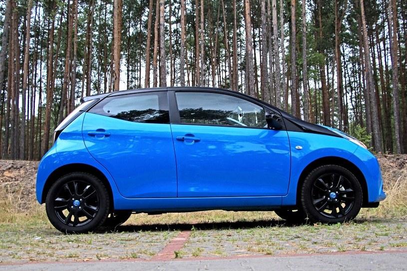 Toyota Aygo to najchętniej kupowane małe auto /INTERIA.PL
