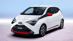 Toyota Aygo zmodernizowana
