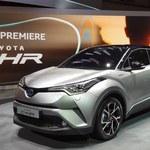 Toyota C-HR - futurystyczny crossover