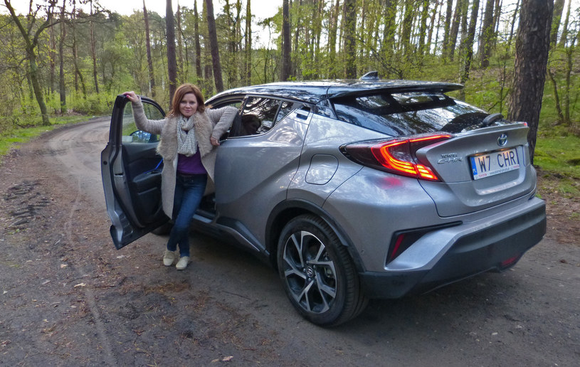 Toyota C-HR Hybrid /INTERIA.PL