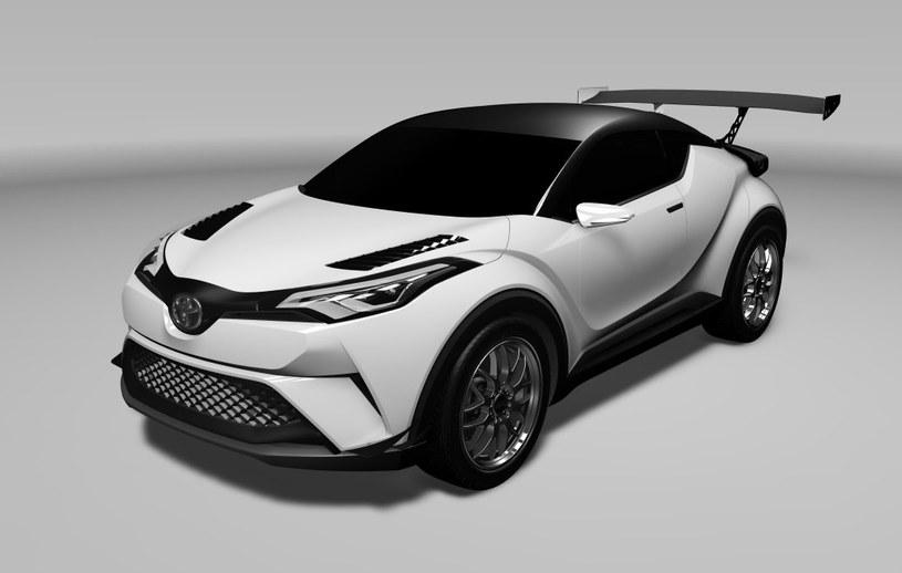 Toyota C-HR przygotowana przez Toyota GAZOO Racing /