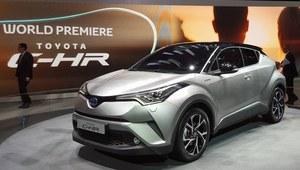 Toyota C-HR - zaskakująco futurystyczna