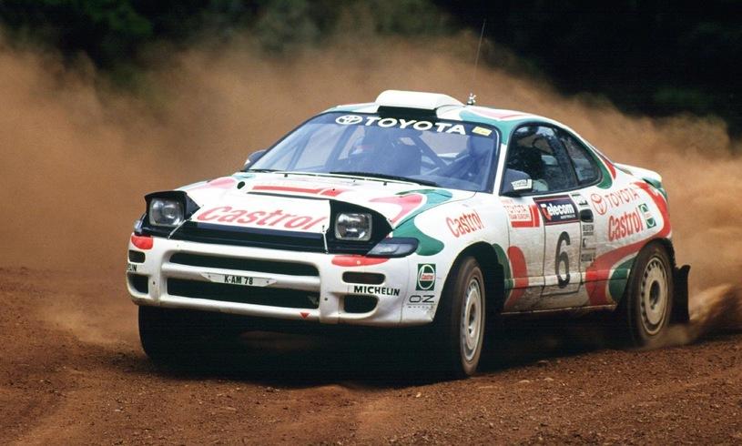 Toyota Celica była kultowym samochodem /