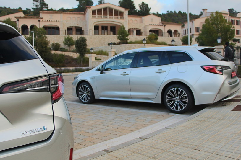 Toyota Corolla hybrid /INTERIA.PL