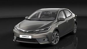 Toyota Corolla po face litingu