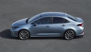 Toyota Corolla sedan zaprezentowana