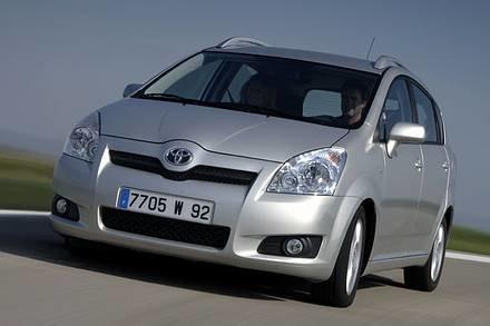 Toyota corolla verso / Kliknij /INTERIA.PL