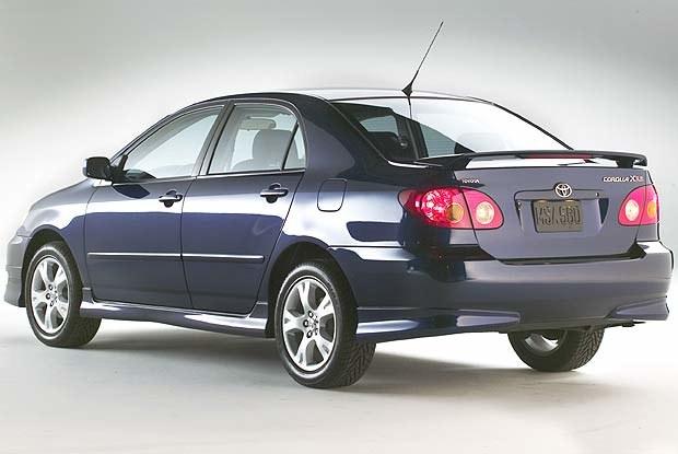 Toyota Corolla XRS (kliknij) /INTERIA.PL