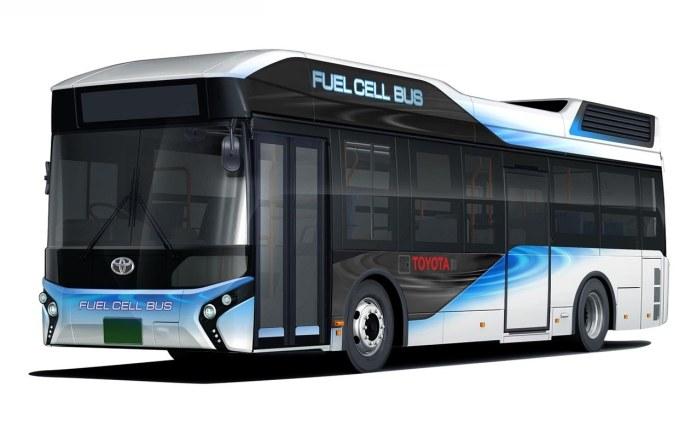 Toyota FC Bus /INTERIA.PL/informacje prasowe