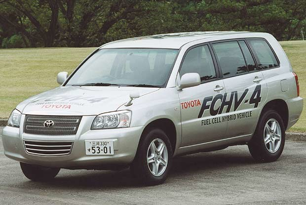 Toyota FCHV (kliknij) /INTERIA.PL