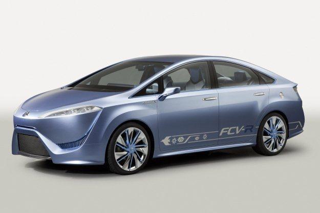 Toyota FCV-R concept /