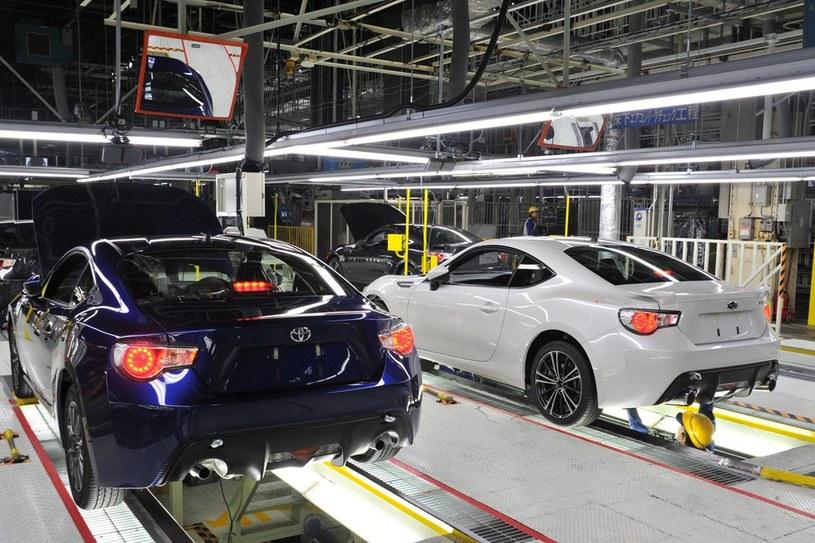Toyota GT86 i Subaru BRZ. Te dwa samochody produkowane są w fabryce Gunma w japońskim mieście Ota-city /