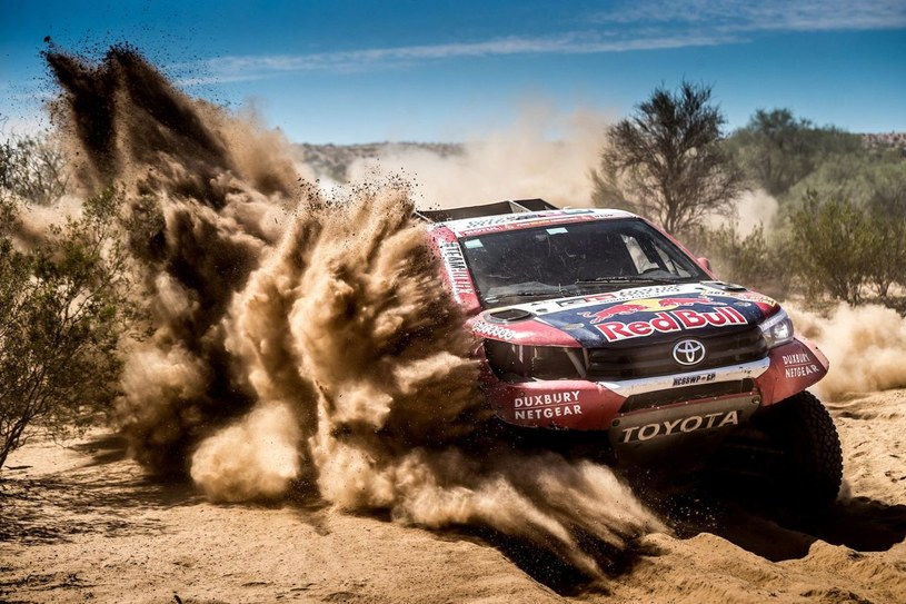 Toyota Hilux na Rajdzie Dakar /