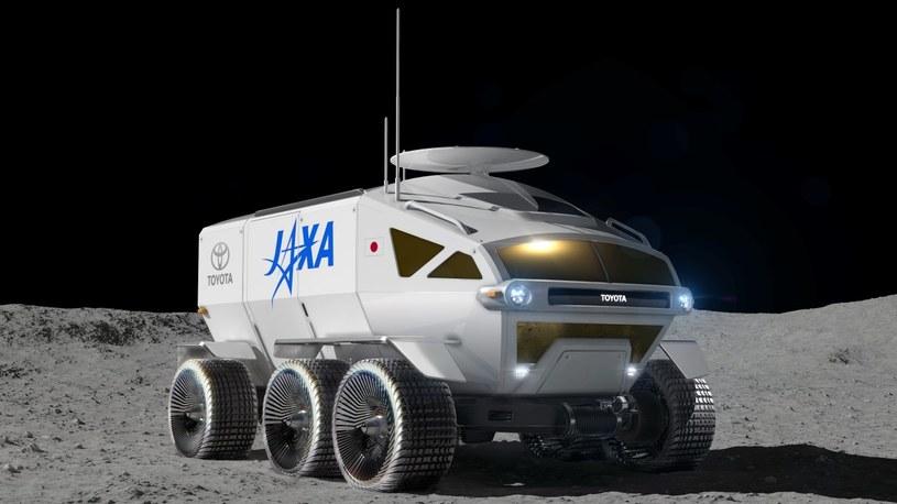 Toyota i JAXA prowadzą badania nad załogowym łazikiem od 2018 roku /INTERIA/materiały prasowe
