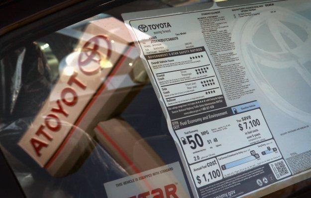 Toyota jest największym producentem samochodów na świecie /AFP