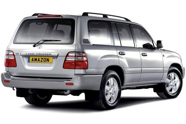 Toyota Land Cruiser Amazon 2003 (kliknij) /INTERIA.PL