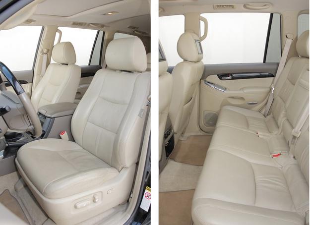 Toyota Land Cruiser fotele /Motor