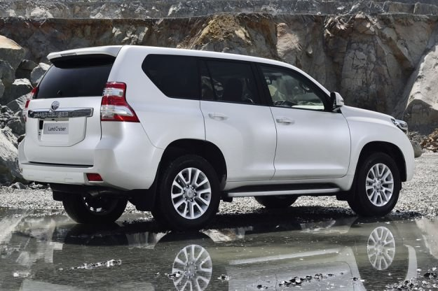 Toyota Land Cruiser po liftingu /