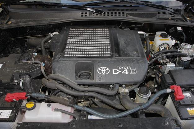 Toyota Land Cruiser silnik /Motor