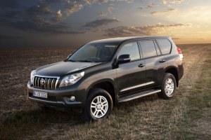 Toyota Land Cruiser sprzed liftingu /Toyota