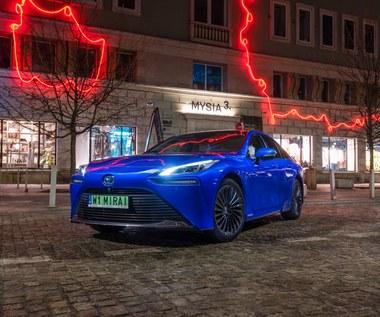 Toyota Mirai debiutuje w Polsce