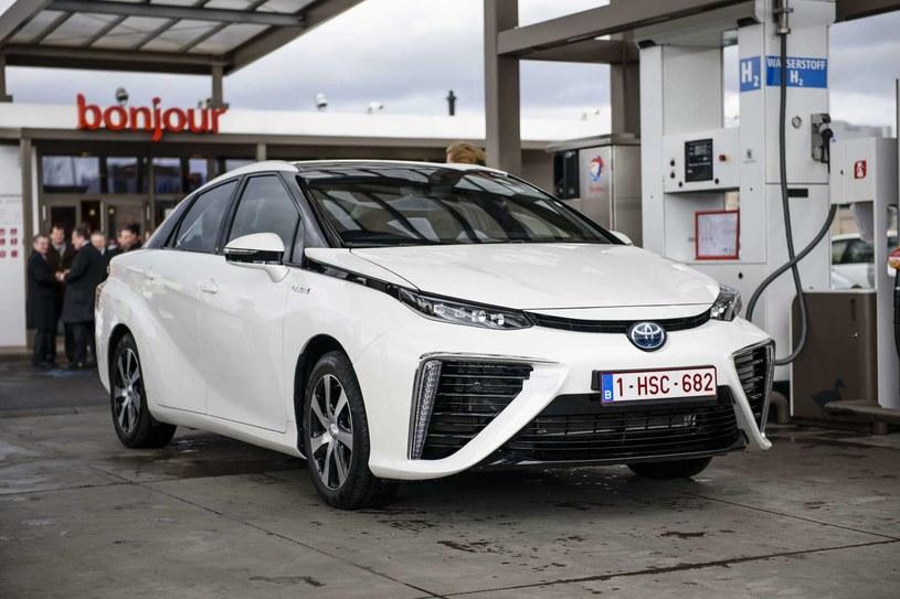 Toyota Mirai w Belgii /AFP