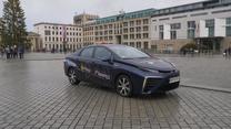 Toyota Mirai w Berlinie