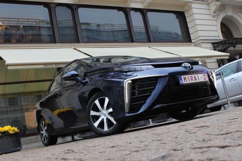 Toyota Mirai w Polsce /INTERIA.PL