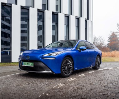 Toyota Mirai z polskimi cenami. Można już zamawiać