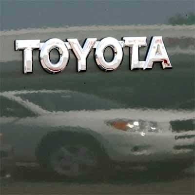 Toyota na giełdach mocno traci /AFP
