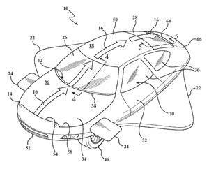Toyota patentuje rozwiązania dla latającego samochodu