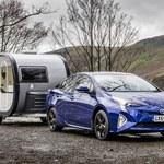 Toyota Prius po raz pierwszy pociągnie przyczepę