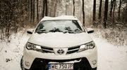Toyota RAV4 4x4. Zimą - nie do przecenienia...