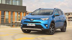 Toyota RAV4 Hybrid - przestronny i oszczędny SUV do miasta