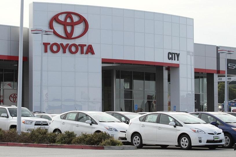 Toyota spodziewa się rekordowych zysków /Getty Images