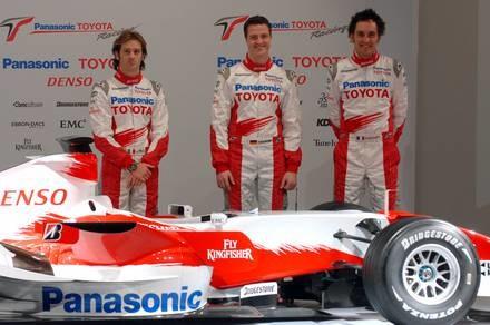 Toyota TF107 / Kliknij /AFP