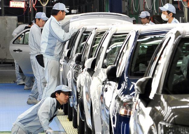 Toyota to największy producent samochodów na świecie /AFP