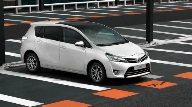 Toyota Verso po faceliftingu /Toyota
