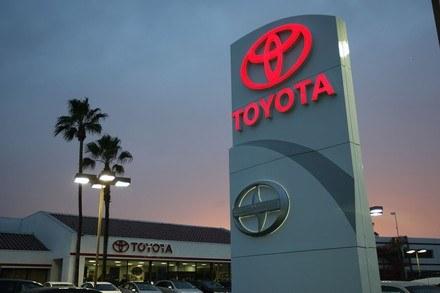 Toyota w tarapatach /AFP