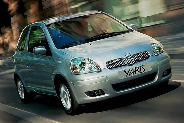 Toyota Yaris 2003 (kliknij) /INTERIA.PL