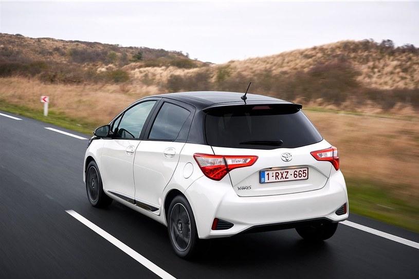 Toyota Yaris III po drugim face liftingu /