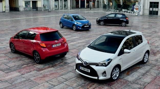 Toyota Yaris po liftingu od 39 900 zł /Toyota
