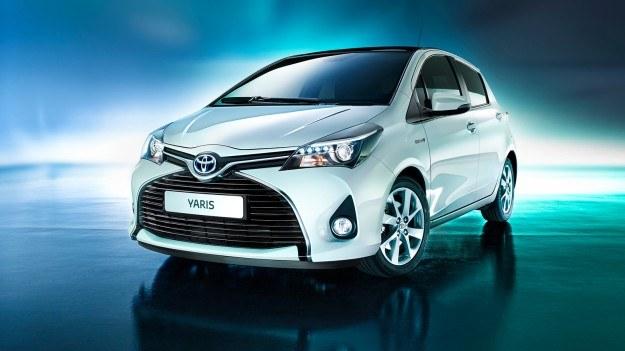 Toyota Yaris po liftingu /Toyota