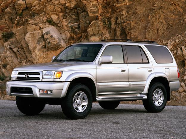 Toyotę 4-Runner (1997-2002) oferowano tylko w USA. /Toyota