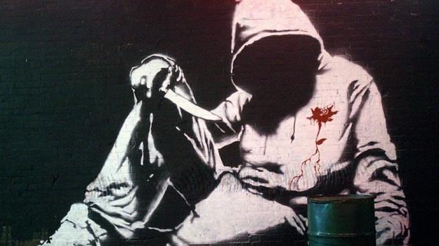 Tożsamość Banksy'ego do dziś pozostaje zagadką /materiały prasowe