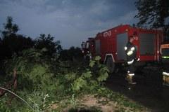 Trąby powietrzne zniszczyły domy w Łódzkiem