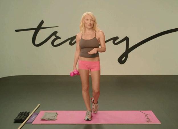 Tracy Anderson /Screen z YouTube.com /INTERIA.PL