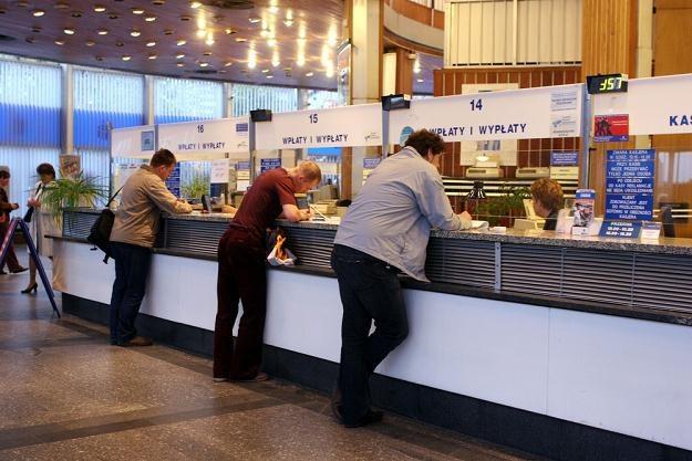 Tradycyjna bankowość ma smutne perspektywy . Fot. Piotr Fotek /Reporter