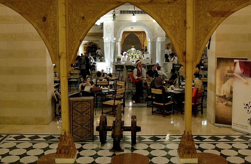 Tradycyjna kawiarnia w Dubaju /AFP